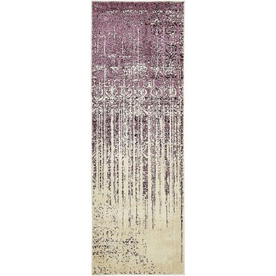 Dungan Purple Area Rug Rug Size: Rectangle 5 x 8