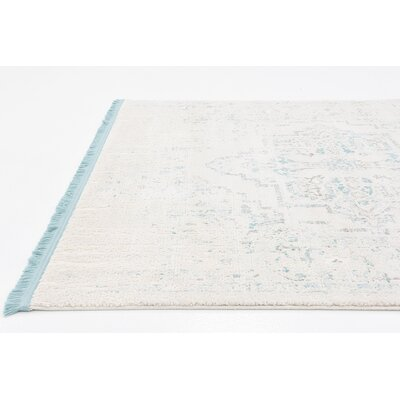 Bryant Light Blue Area Rug Rug Size: Rectangle 8 x 10