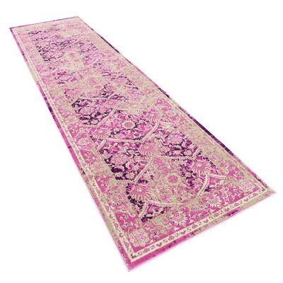 Hurst Lilac Area Rug Rug Size: Runner 3 x 10