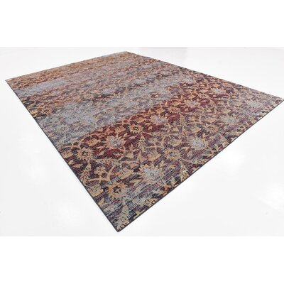 Pierre Rust Red Area Rug Rug Size: 9 x 12
