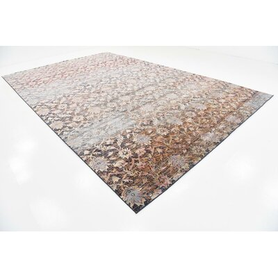 Pierre Rust Red Area Rug Rug Size: 106 x 165
