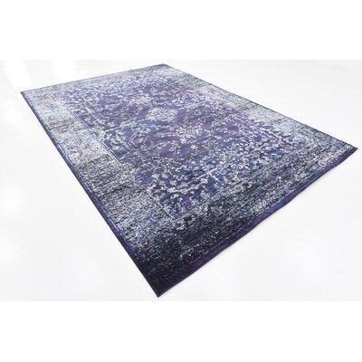Oliver Blue Area Rug Rug Size: 7 x 10