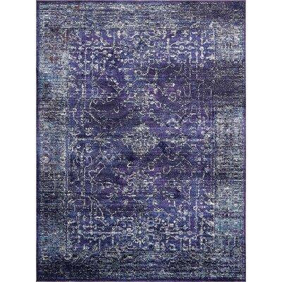Oliver Blue Area Rug Rug Size: 9 x 12