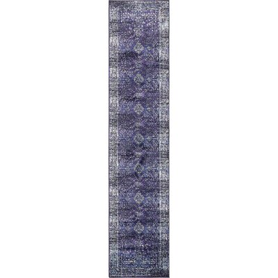 Bently Blue Area Rug Rug Size: Runner 27 x 122