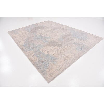 Pellham Gray Area Rug Rug Size: Rectangle 8 x 10
