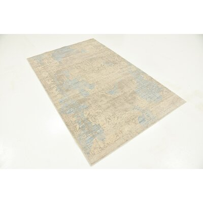 Pellham Gray Area Rug Rug Size: Rectangle 4 x 6