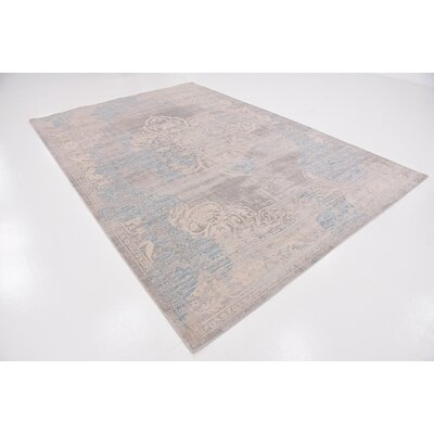 Pellham Gray Area Rug Rug Size: Rectangle 7 x 10