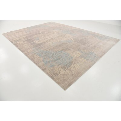 Pellham Gray Area Rug Rug Size: 10 x 13