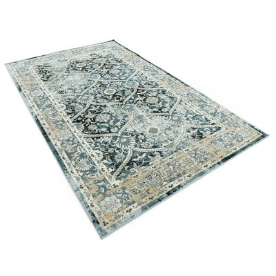 Sullivan Dark Blue Area Rug