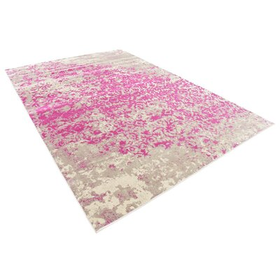Francis Pink Area Rug Rug Size: 7 x 10