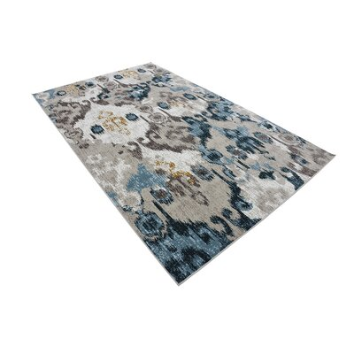 Francis Beige Area Rug Rug Size: 5 x 8