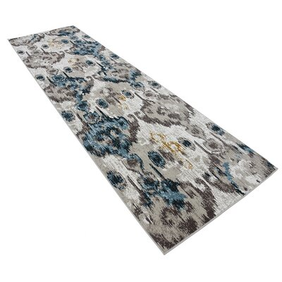 Francis Beige Area Rug Rug Size: Runner 3 x 10
