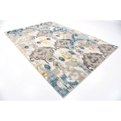 Francis Beige Area Rug Rug Size: Rectangle 7 x 10
