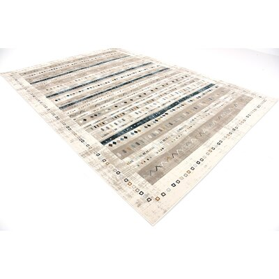 Francis Beige Area Rug Rug Size: Rectangle 8 x 112