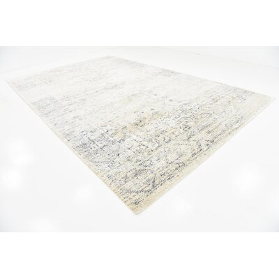Bently Cream Area Rug Rug Size: 106 x 165