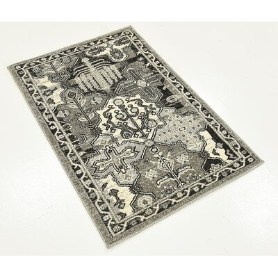 Harry Gray Area Rug Rug Size: 22 x 3