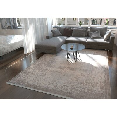 Twila Gray Area Rug Rug Size: Rectangle 5 x 8