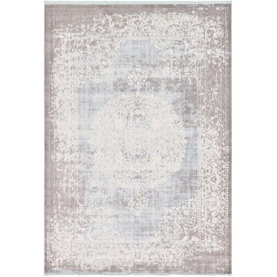 Twila Gray Area Rug Rug Size: 8 x 11