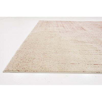 Raphael Red Area Rug Rug Size: 10 x 13