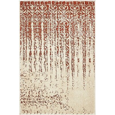 Raphael Red Area Rug