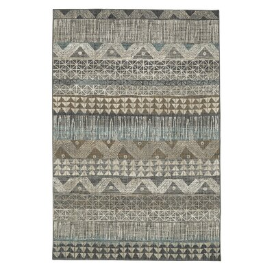 Amya Gray Area Rug Rug Size: Rectangle 8 x 11