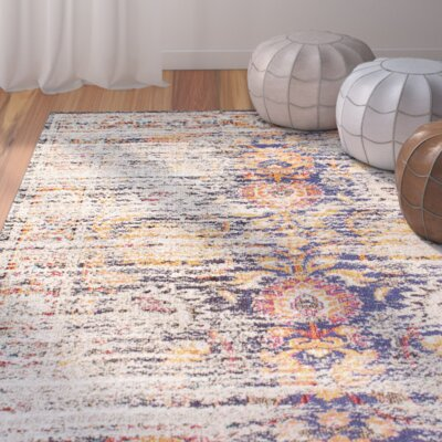 Szabo Beige/Orange Area Rug Rug Size: 710 x 11