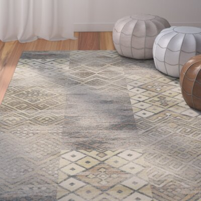 Vishnu Stone Rug Rug Size: Rectangle 4 x 57