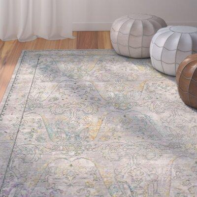 Shubhada Gray / Multi Area Rug Rug Size: 3' x 5'