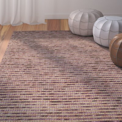 Makhi Purple Area Rug Rug Size: Rectangle 2 x 3