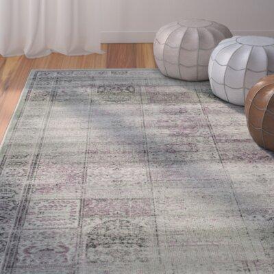Makenna Amethyst Area Rug Rug Size: 810 x 122
