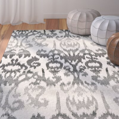 Renzi Charcoal Area Rug Rug Size: Rectangle 8 x 11