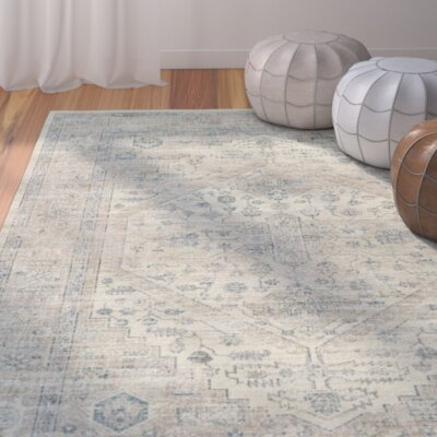 Lizotte Stone / Blue Area Rug Rug Size: 810 x 122