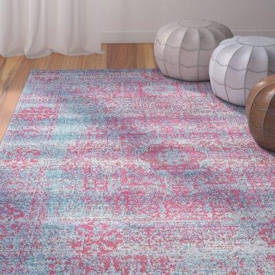 Nitta Blue Area Rug Rug Size: 4' x 6'