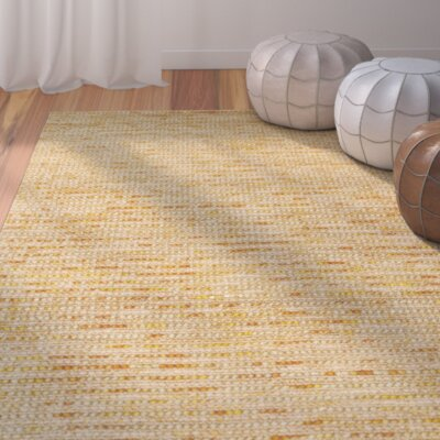Makhi Gold Area Rug Rug Size: Rectangle 3 x 5