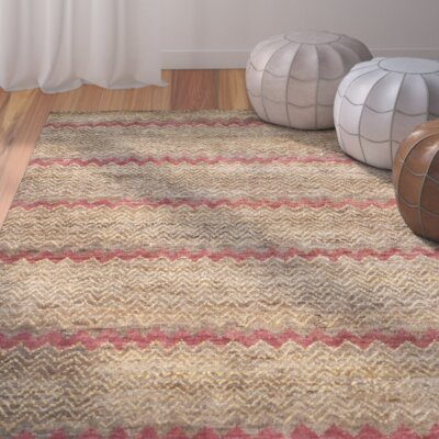 Pinehurst Brown / Gold Area Rug Rug Size: 4 x 6