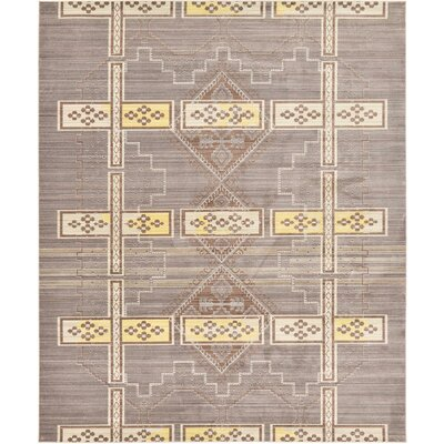 Bradford Brown Area Rug Rug Size: 8 x 10