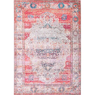Chayne Blush Area Rug Rug Size: Rectangle 67 x 9