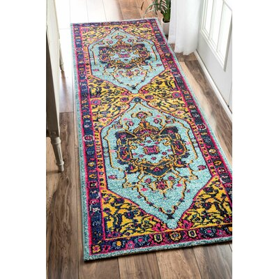 Fajardo Area Rug Rug Size: Rectangle 12 x 26