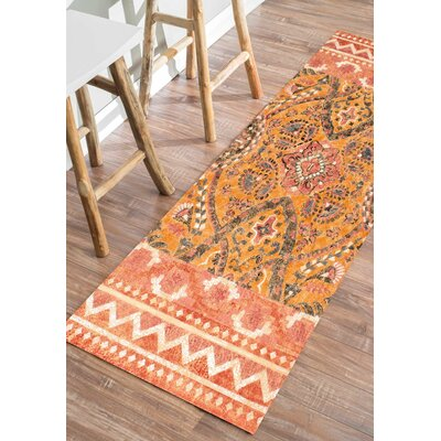 Mud Lake Felicia Area Rug Rug Size: Runner 26 x 8