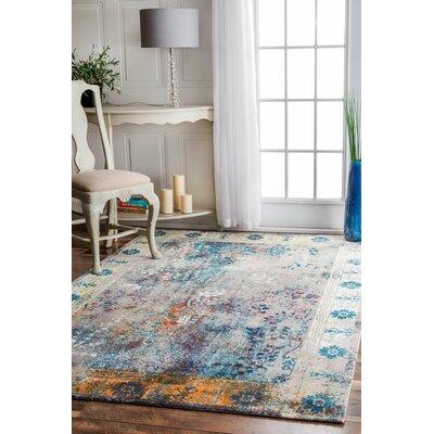 Dabachi Blue Area Rug Rug Size: 6 x 9