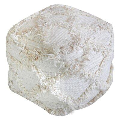 Diana Pouf Ottoman Upholstery: Ivory