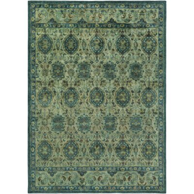Arensburg Teal Area Rug Rug Size: Rectangle 5 x 8