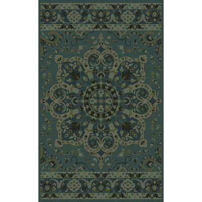 Saint-Laurent Lime Area Rug Rug Size: 8 x 11