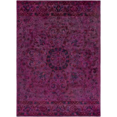 La Conception Eggplant Area Rug Rug Size: Rectangle 8 x 11