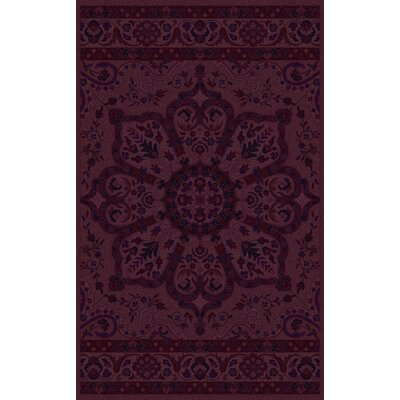 La Conception Eggplant Area Rug Rug Size: Rectangle 5 x 8