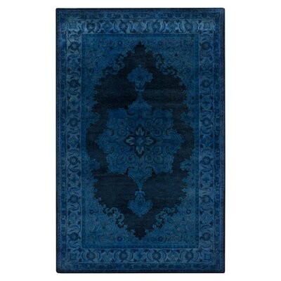 Reckange-sur-Mess Tufted Navy Area Rug Rug Size: 33 x 53