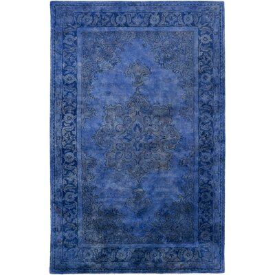 Katiranoma Cobalt Area Rug Rug Size: Rectangle 33 x 53