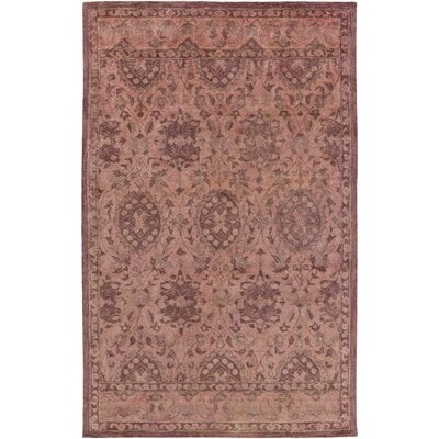 Lorentzweiler Hand-Tufted Rose Area Rug Rug size: Rectangle 2 x 3