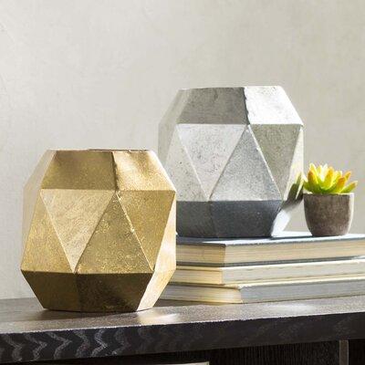 Alpina Hexagonal Table Vase (Set of 2)