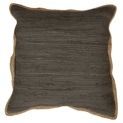 Yarrow Throw Pillow Color: Dark Gray